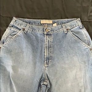 Men's Abercrombie and Fitch Carpenter Jeans 34R
